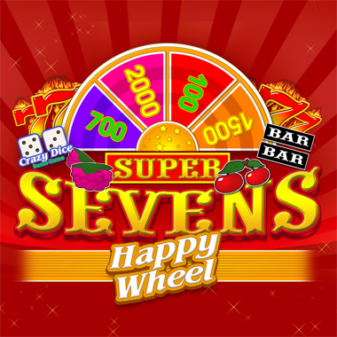 Слот Super sevens happy wheel