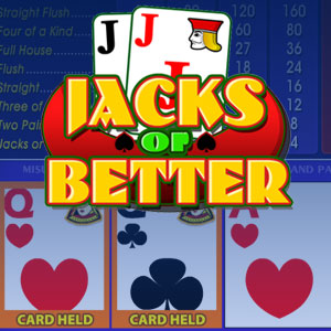 Видеопокер Jacks or Better Video Poker