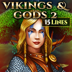 Слот Vikings And Gods 2 15 Lines Edition