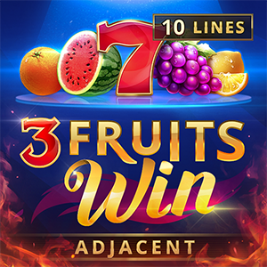 Слот 3 Fruits Win: 10 lines