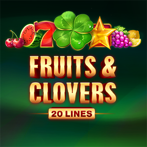 Слот Fruits & Clovers: 20 lines