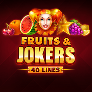 Слот Fruits and Jokers: 40 lines