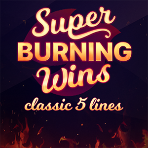 Слот Super Burning Wins: classic 5 lines